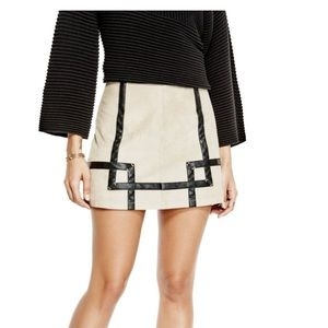 👗GUESS• Rosalind Faux-Suede Skirt👗
